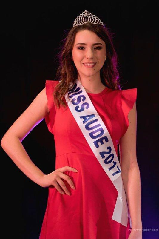 Miss Aude 2017 est Mégane Courbès