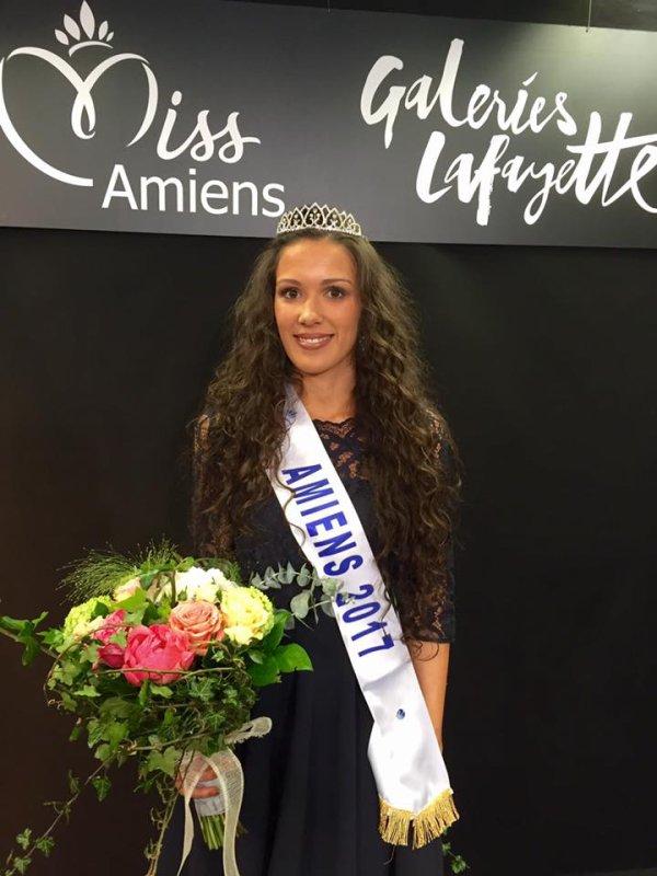 Miss Amiens 2017 est Océane Soulé