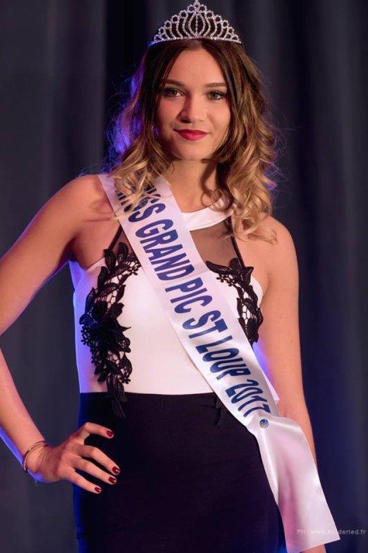 Miss Grand Pic Saint Loup 2017 est Isaure Mas