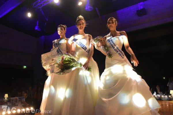 Miss Corrèze 2017 est Juline Charliat