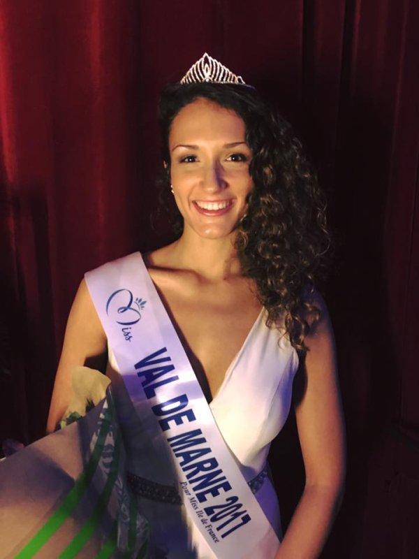 Miss Val-de-Marne 2017 est Raphaele Ofterdinger