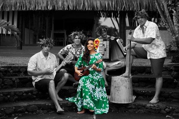 Candidates Miss Tahiti 2017