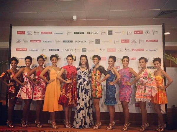 Présentation officielle - Miss Tahiti 2017