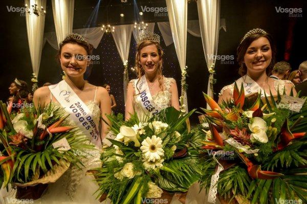 Miss Vosges 2017 est Chloé Mougeolle