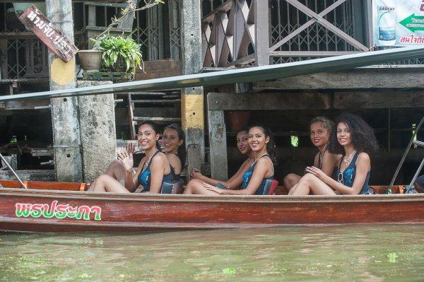 Candidates Miss Réunion 2017 - Thaïlande