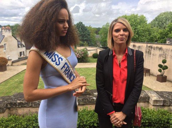Conférence de presse Miss France 2018