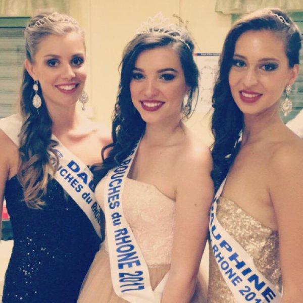 Miss Bouches du Rhône 2017 est Kleofina Pnishi