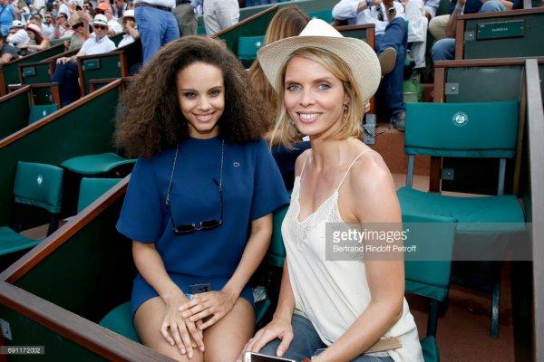 Alicia Aylies & Sylvie Tellier - Roland Garros