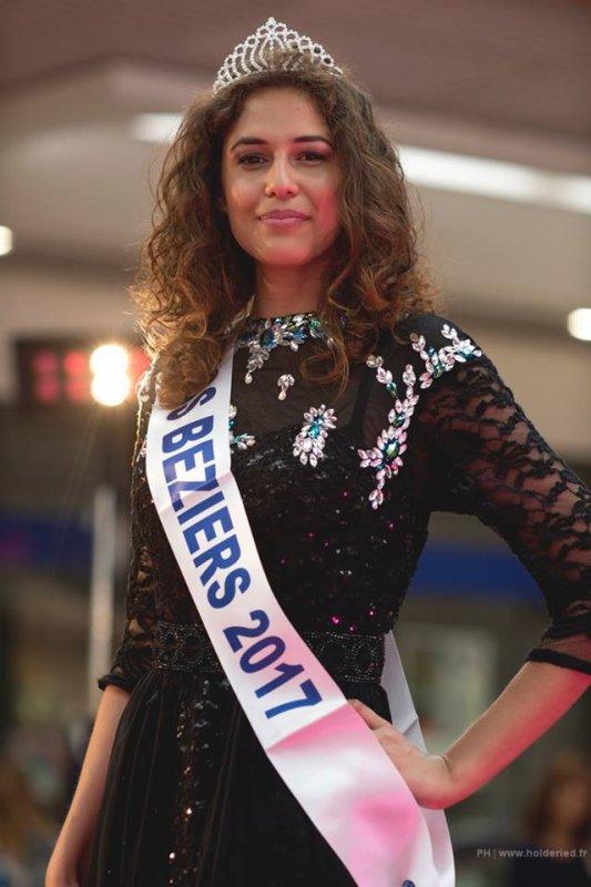 Miss Beziers 2017 est Mariane Ferret