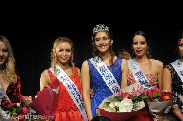 Miss Eure et Loir 2017 est Emilie Troupin