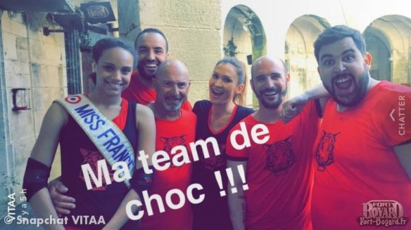 Miss France - Fort Boyard