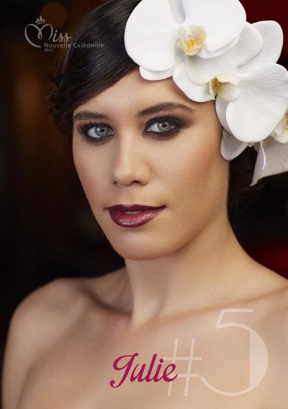 Candidates Miss Nouvelle-Calédonie 2017