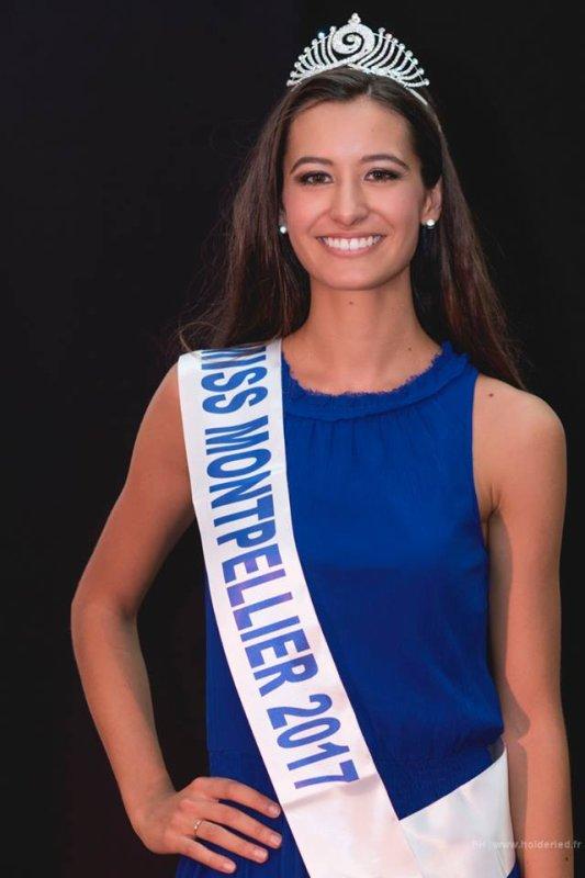 Miss Montpellier 2017 est Coline Vayssière