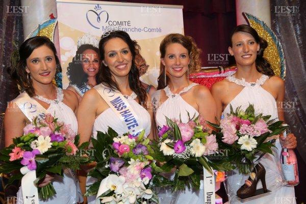 Miss Haute-Saône 2017 est Jeanne Ballot