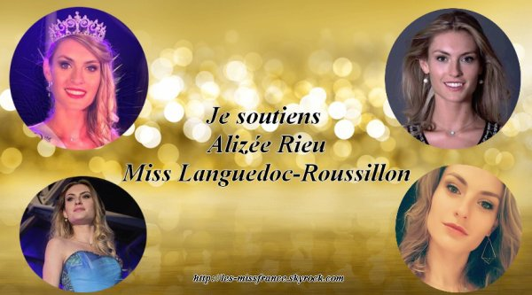 Candidates Miss France 2018 - Bannières