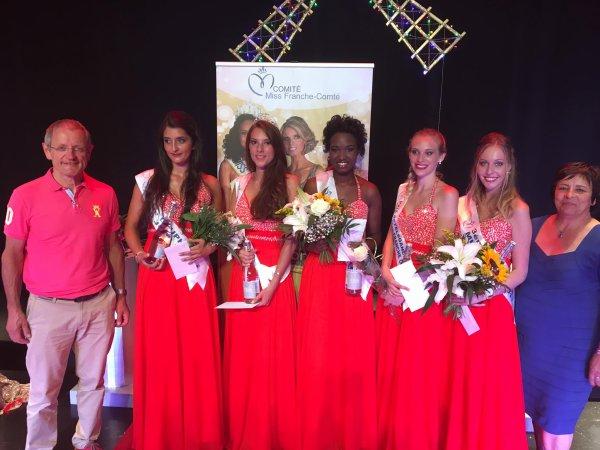 Miss Jura 2017 est Jeanne Tournier