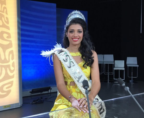 Miss Tahiti 2017 - JT
