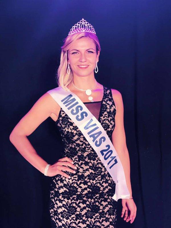 Miss Vias 2017 est Océane Garrido