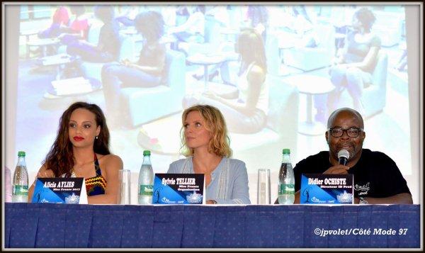 Alicia Aylies & Sylvie Tellier - Conférence de Presse
