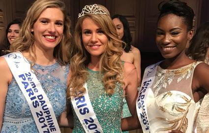 Miss Paris 2017 est Solène Barbot