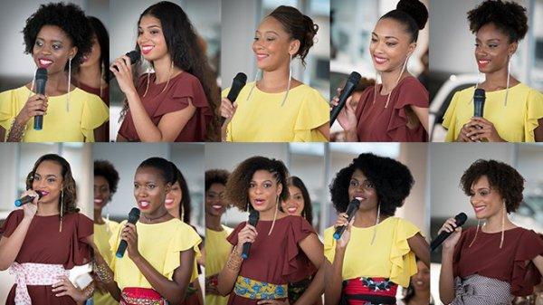 Alicia Aylies & Sylvie Tellier - Conférence de presse Miss Martinique