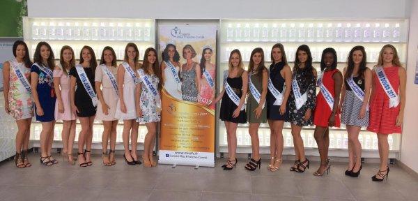 Candidates Miss Franche-Comté 2017