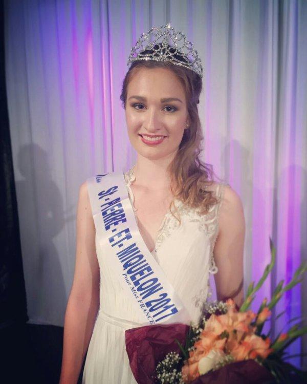 Miss Saint-Pierre-et-Miquelon 2017 est Héloïse Urtizbéréa