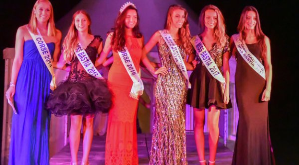 Miss Bastia 2017 est Maeva Fancello
