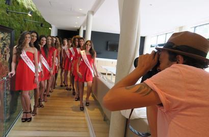Candidates Miss Ile de France 2017