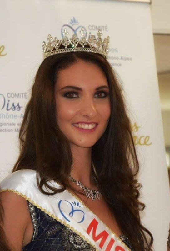 Miss Loire 2017 est Marie-Amélie Richard