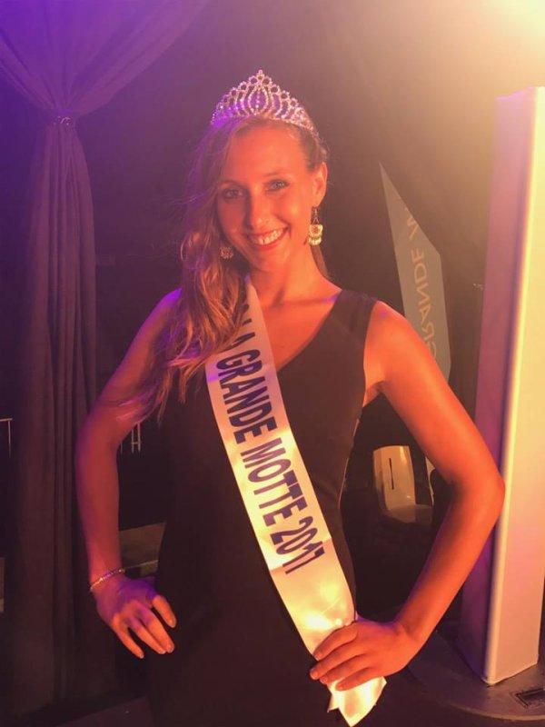 Miss La Grande Motte 2017 est Emilie