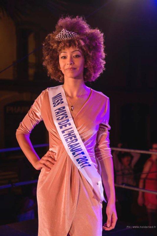 Miss Pays de l'Hérault 2017 est Clara