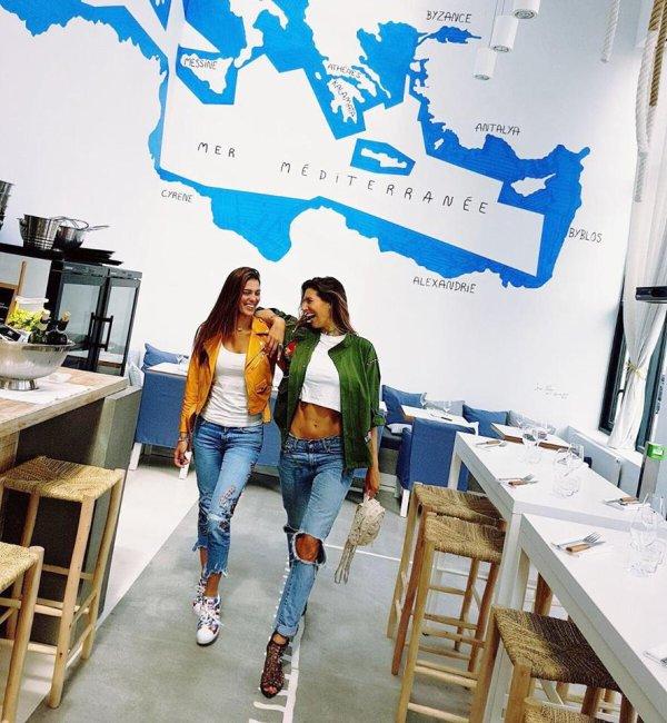 Iris Mittenaere & Laury Thilleman - Paris