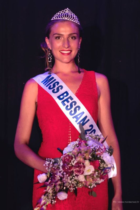 Miss Bessan 2017 est Anouk Chardon