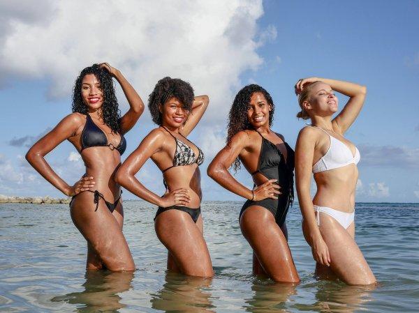 Candidates Miss Guadeloupe 2017