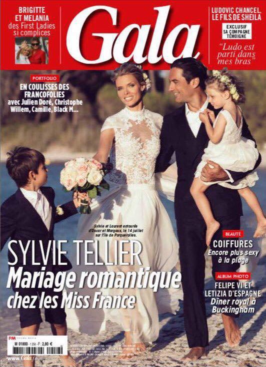 Sylvie Tellier - Mariage