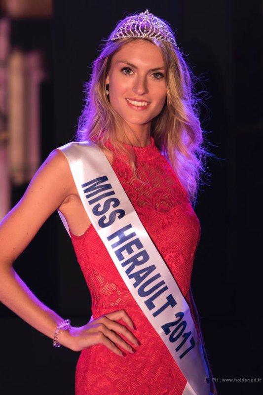 Miss Hérault 2017 est Alizée