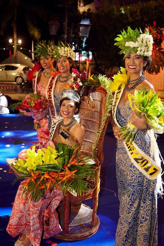 Turouru Temorere - Miss Tahiti
