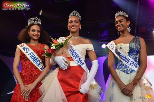 Miss Martinique 2017 est Jade Voltigeur