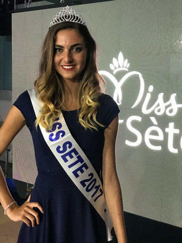 Miss Sète 2017 est Pauline Pivot