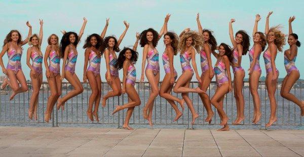 Candidates Miss Côte d'Azur 2017