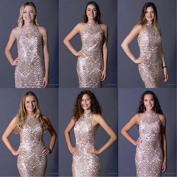 Candidates pour la demi-finale de Miss Languedoc-Roussillon 2017
