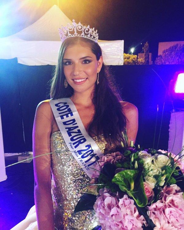 Miss Côte d'Azur 2017 est Julia Sidi Atman