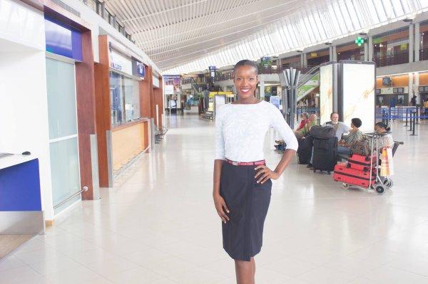 Laure-Anaïs Abidal - représentante de la Martinique à Miss France