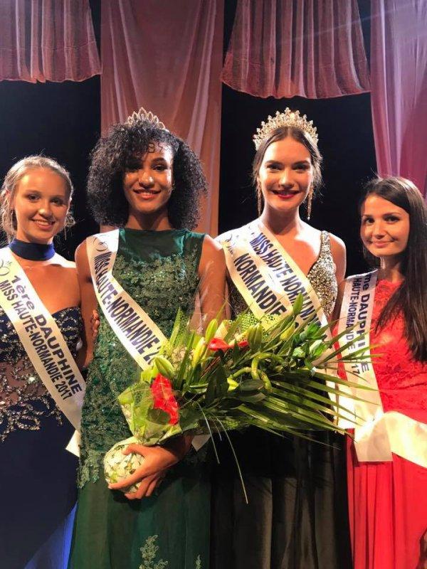 Miss Haute-Normandie 2017 est Maryème Diagne