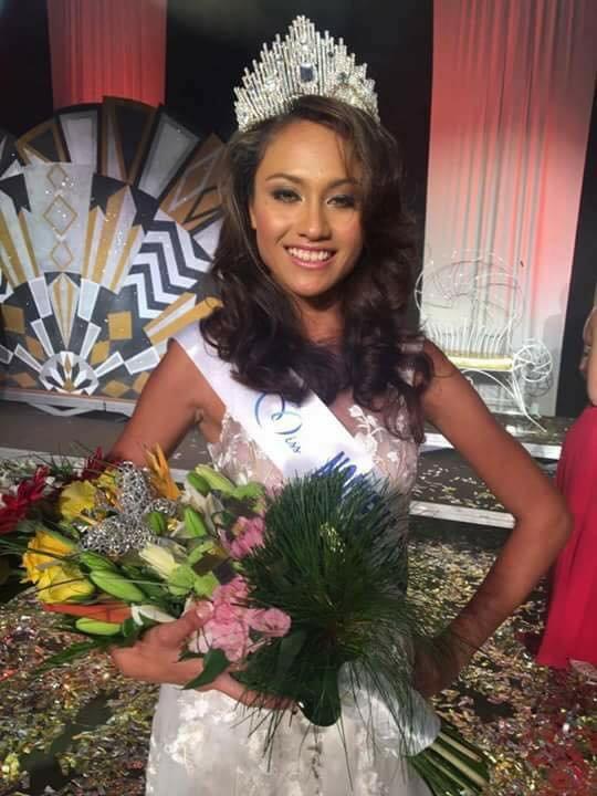 Miss Nouvelle-Calédonie 2017 est Levina Napoléon