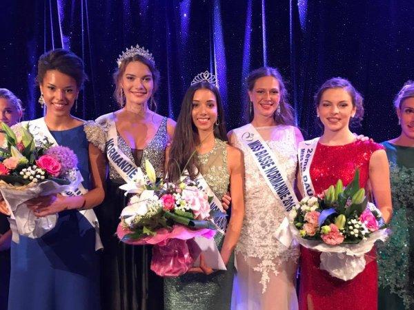 Miss Basse-Normandie 2017 est Naurenn Marshall