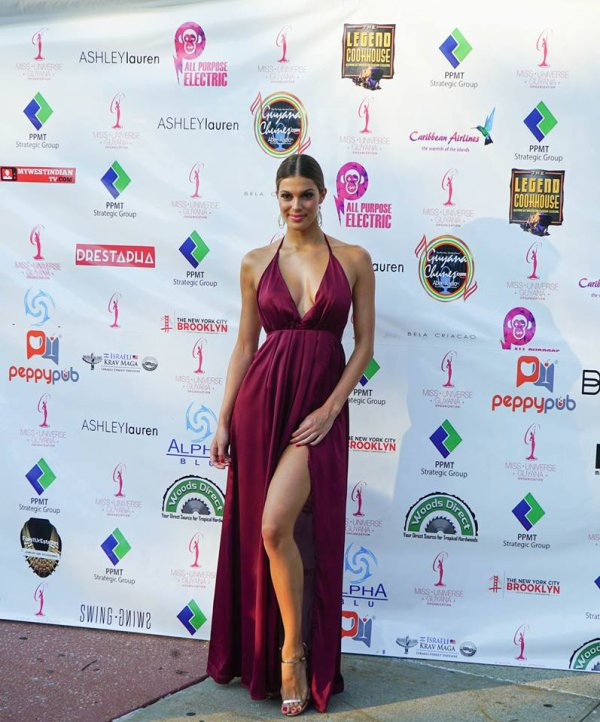 Iris Mittenaere - Miss Universe Guyana