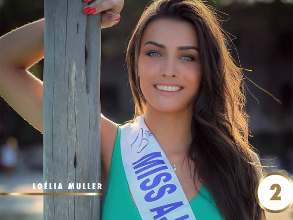 Candidates Miss Corse 2017