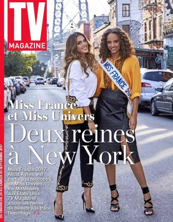 Alicia Aylies & Iris Mittenaere - New York
